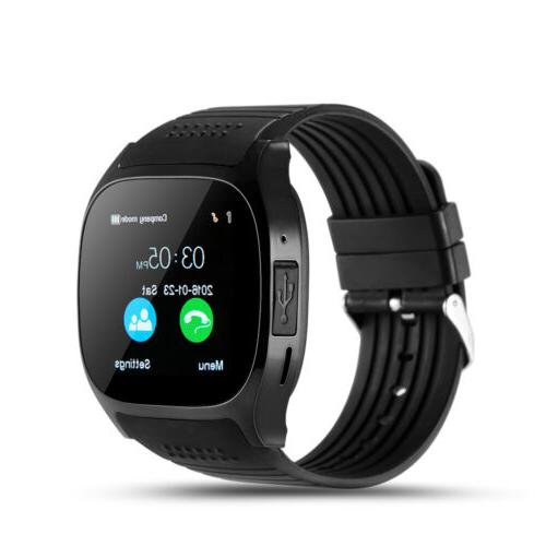 Bluetooth Smart Watch Unlocked Phone Camera For Android Smar