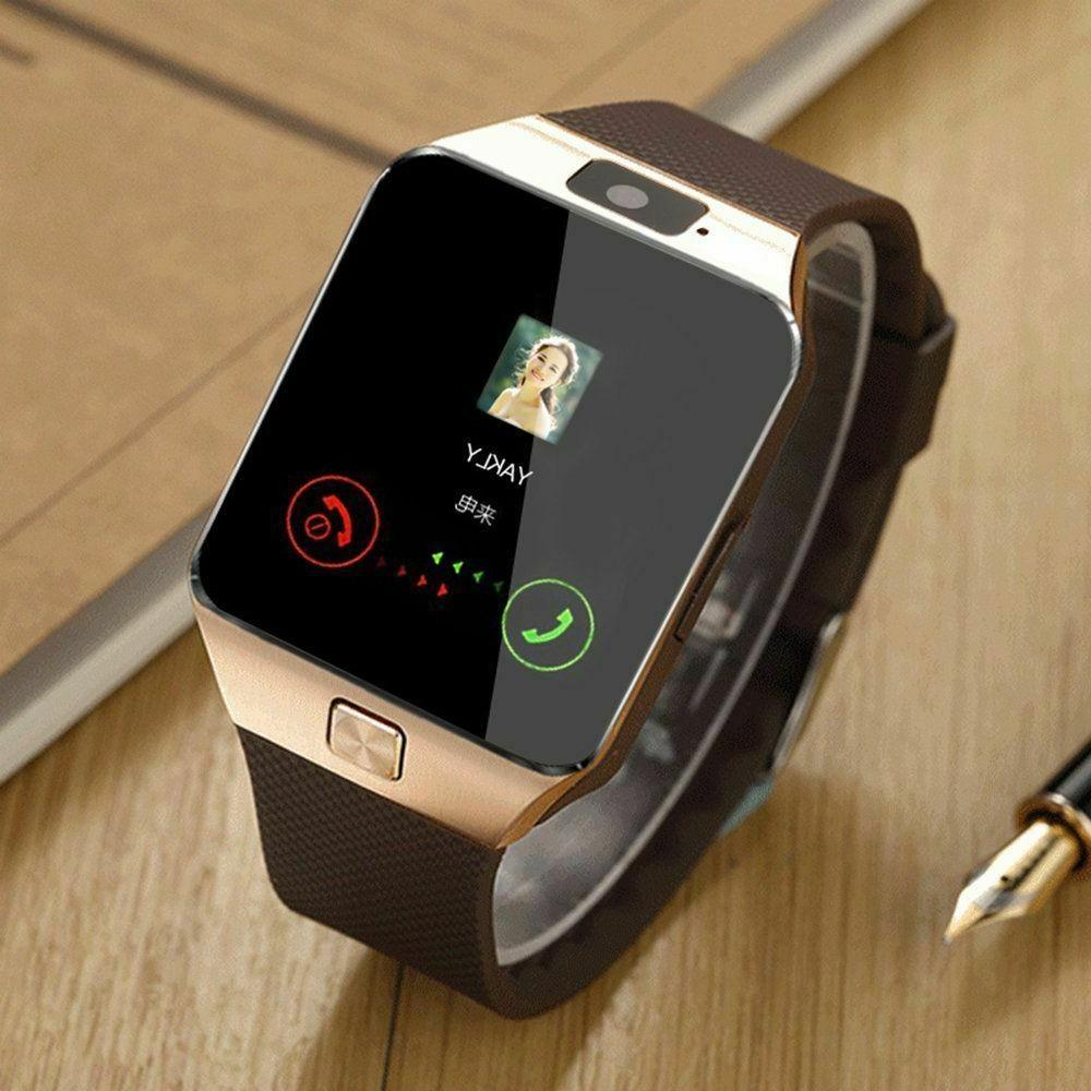 New Blue-tooth Smart Watch & Phone with Camera For i Phone S
