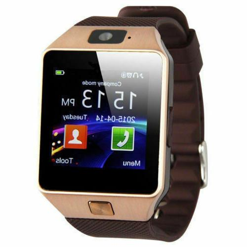 Bluetooth Watch Waterproof Android Samsung iPhone