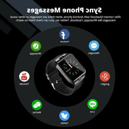 DZ09 Watch Camera For Android Samsung iPhone