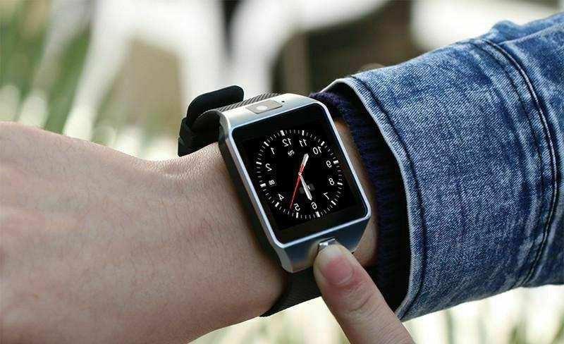 Bluetooth Watch w/ iPhone iOS Android