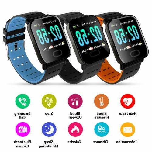Fitness Watch Activity Tracker Android Heart