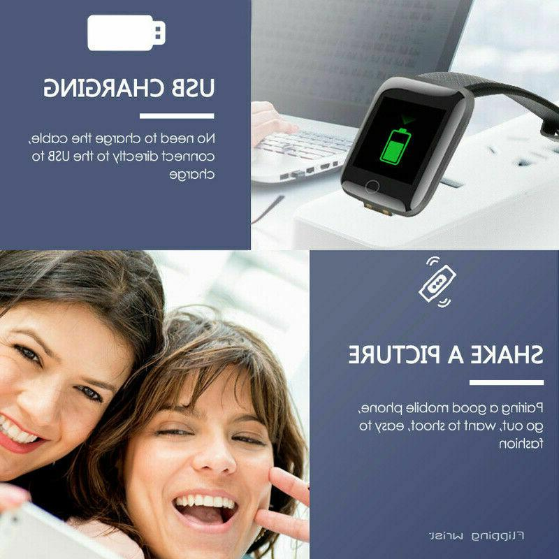 Fitness Activity Smart Watch Band Rate Oxygen