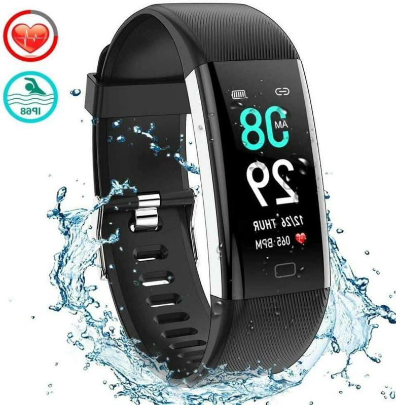 Ancwear Fitness Tracker Watch, F07 Activity Tracker Health E