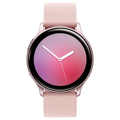 galaxy active 2 smartwatch 40mm pink gold