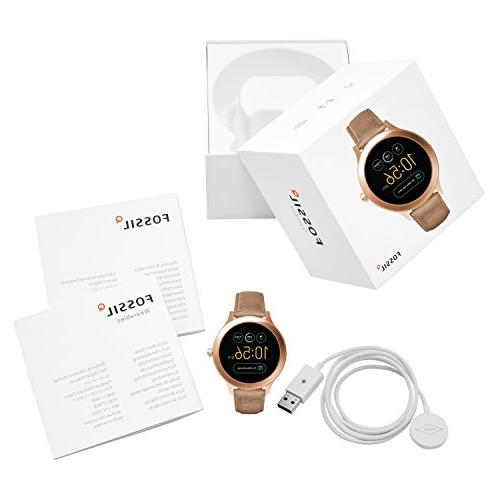 Fossil Q 3 Venture' Touchscreen Stainless Steel Watch,