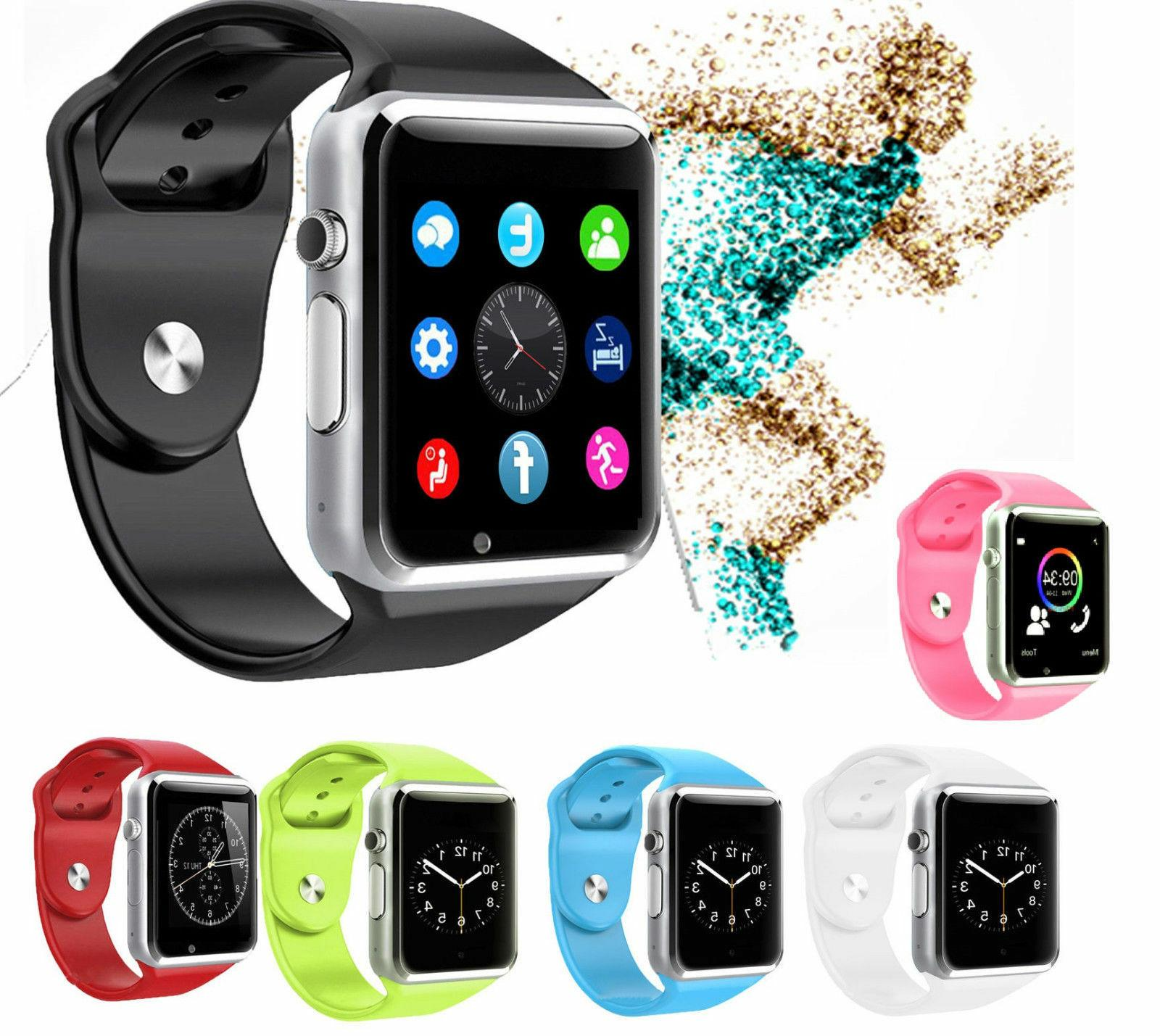 bluetooth smart watch w camera waterproof phone