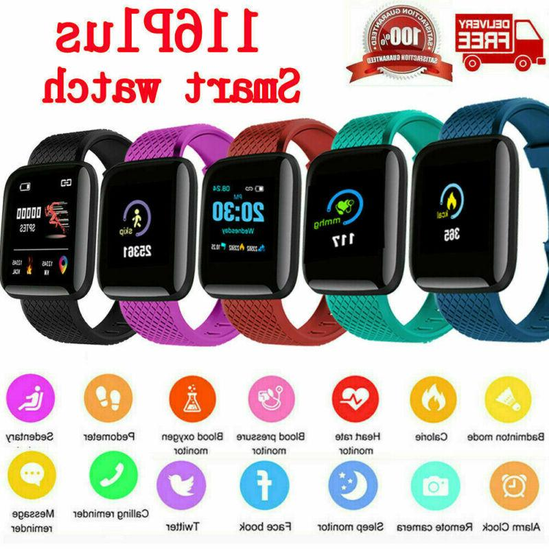 heart rate blood pressure smart watch fitness