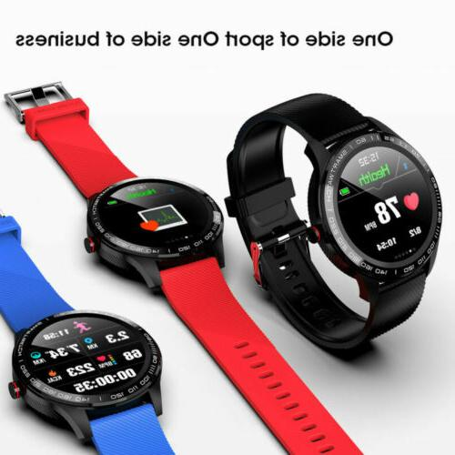L9 Smart PPG ECG Pressure Android iPhone