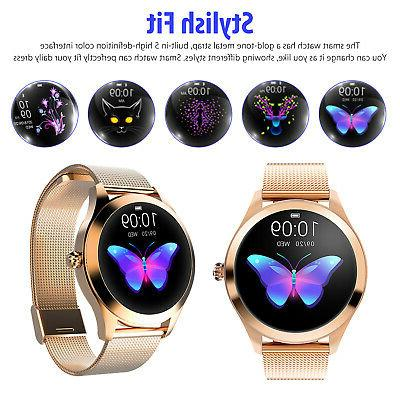 Lady Watch Waterproof Pedometer For