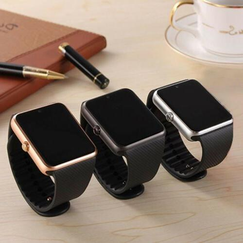 Latest Bluetooth Smart Watch with Camera Mic for