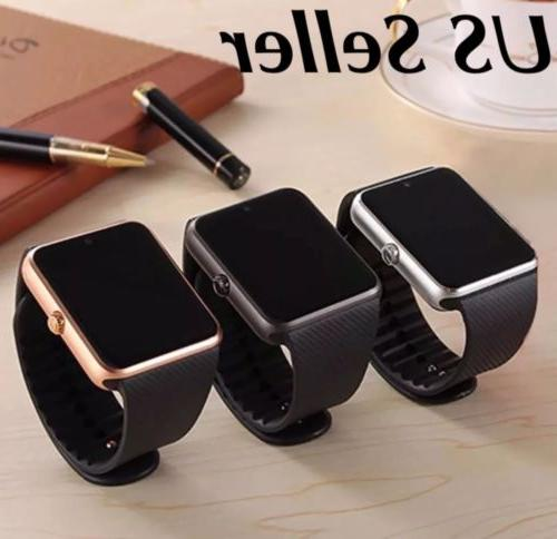 latest bluetooth smart watch with camera text