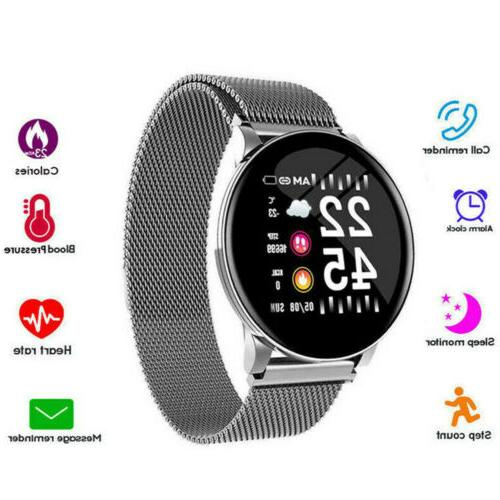 lemfo smart band watch heart rate blood