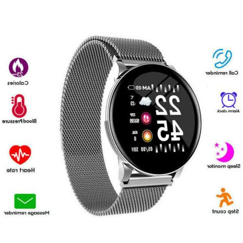 lemfo smart watch band heart rate blood
