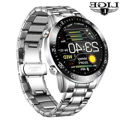 LIGE circle touch screen Smart Watches IP68 S