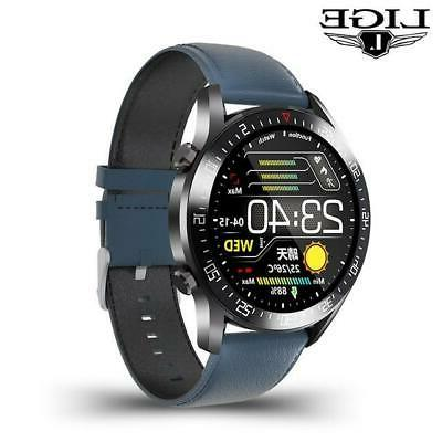 LIGE circle touch screen Mens Smart Watches S