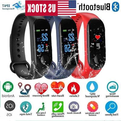 M3 Watch Bracelet Fitness Blood