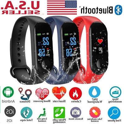 m3 smart band watch bracelet wristband fitness