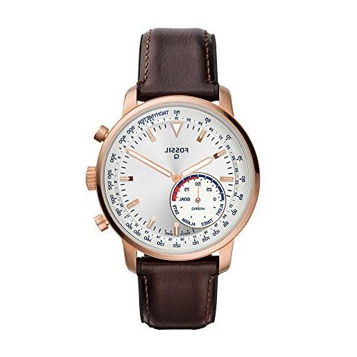 men s goodwin stainless steel and leather