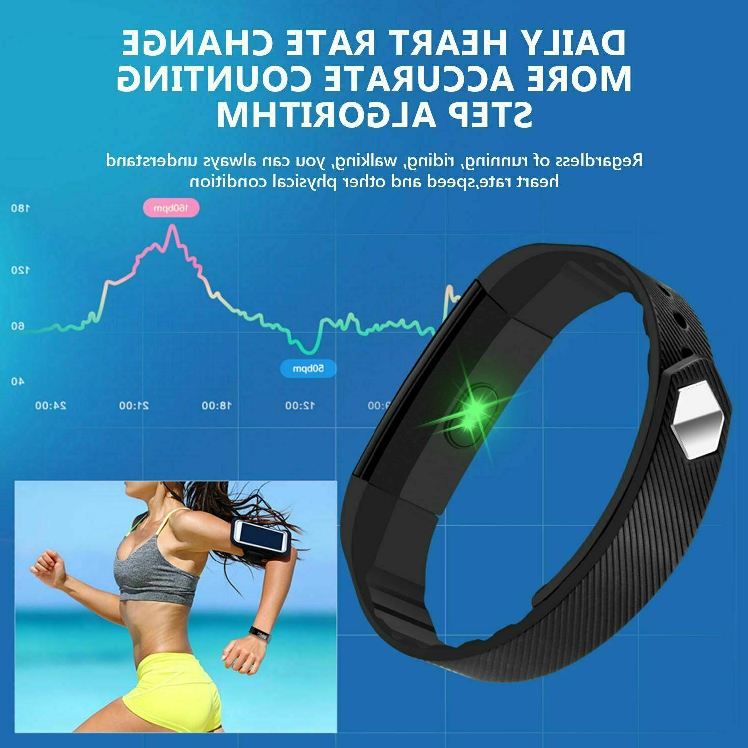 New Fit***bit Sports Life-Waterproof Smart Watch