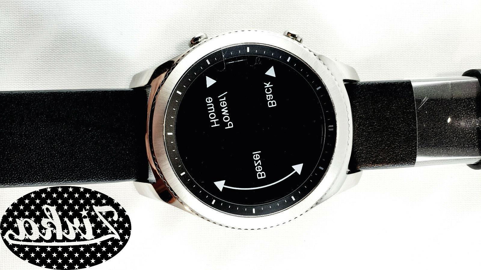 New Samsung Gear Watch Classic, Silver Carrier