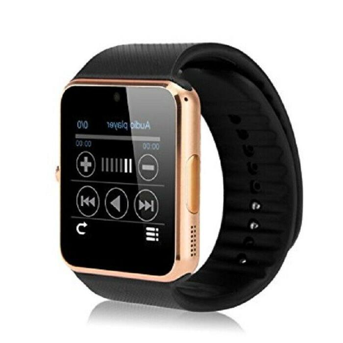 new smart watch with touch screen camera