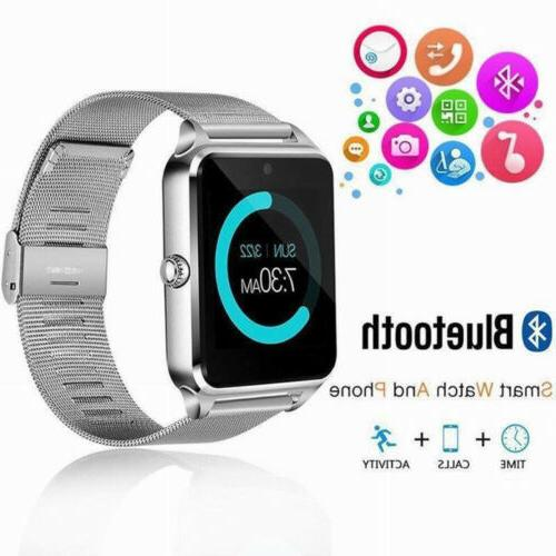 New Bluetooth Watch Mate IOS Android