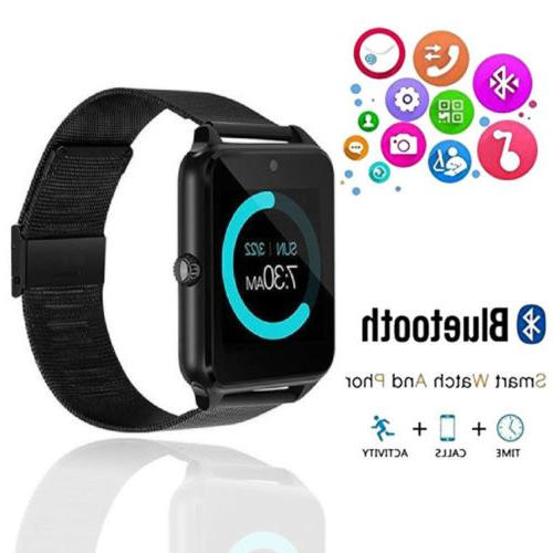 New Watch SIM Mate Stainless IOS Android