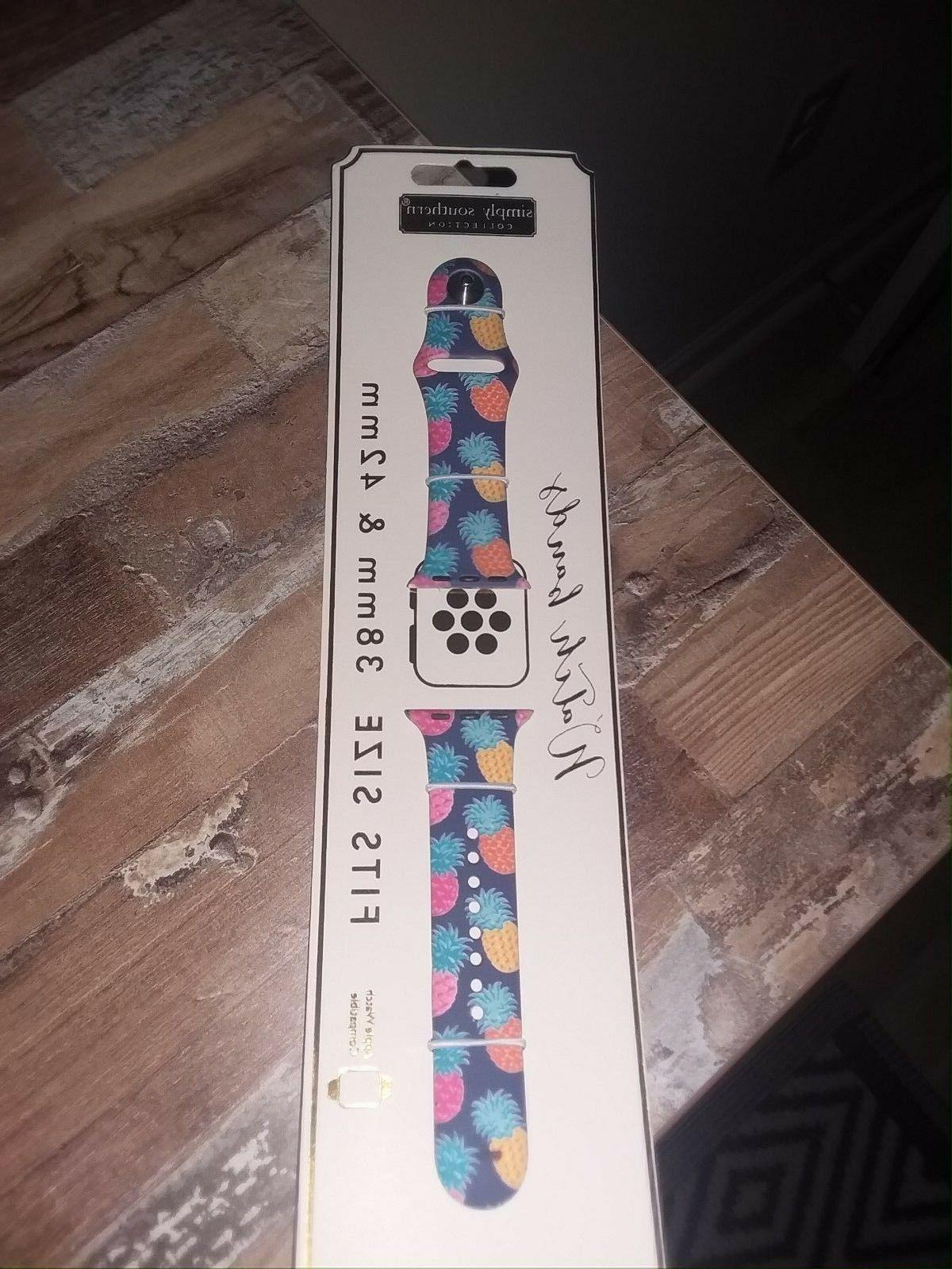 nwt new silicone band for apple smart