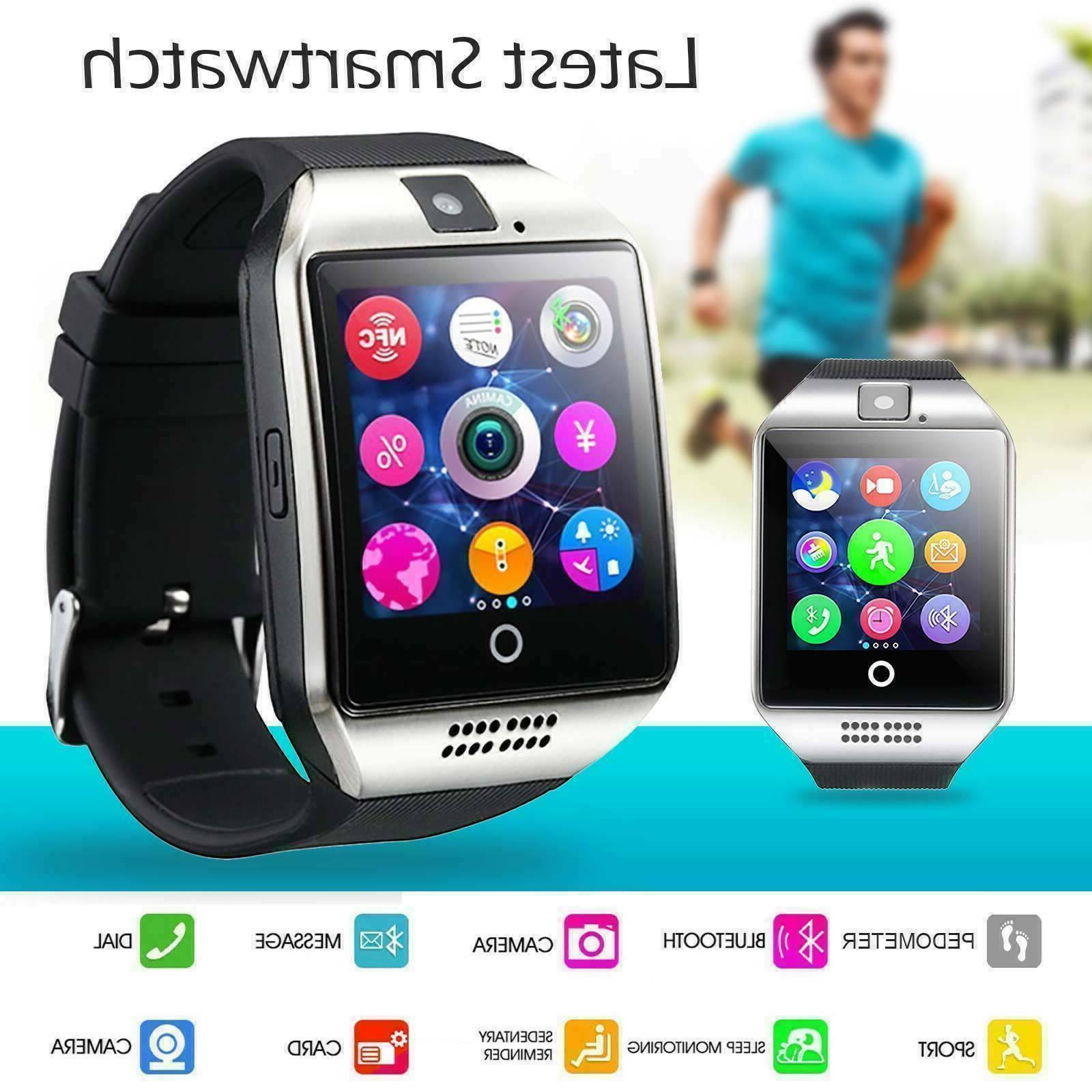 Q18 Smart Watch Calling Facility Android Phones Men