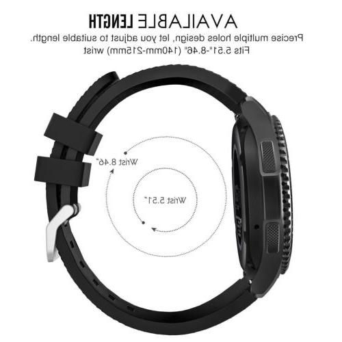 For Gear Classic / Watch Band Strap Silicone