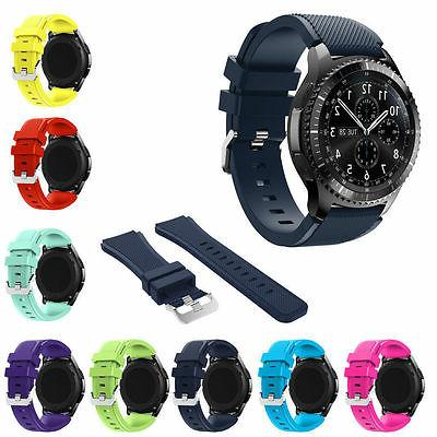 US Silicone Strap Watch Band For Gear S3