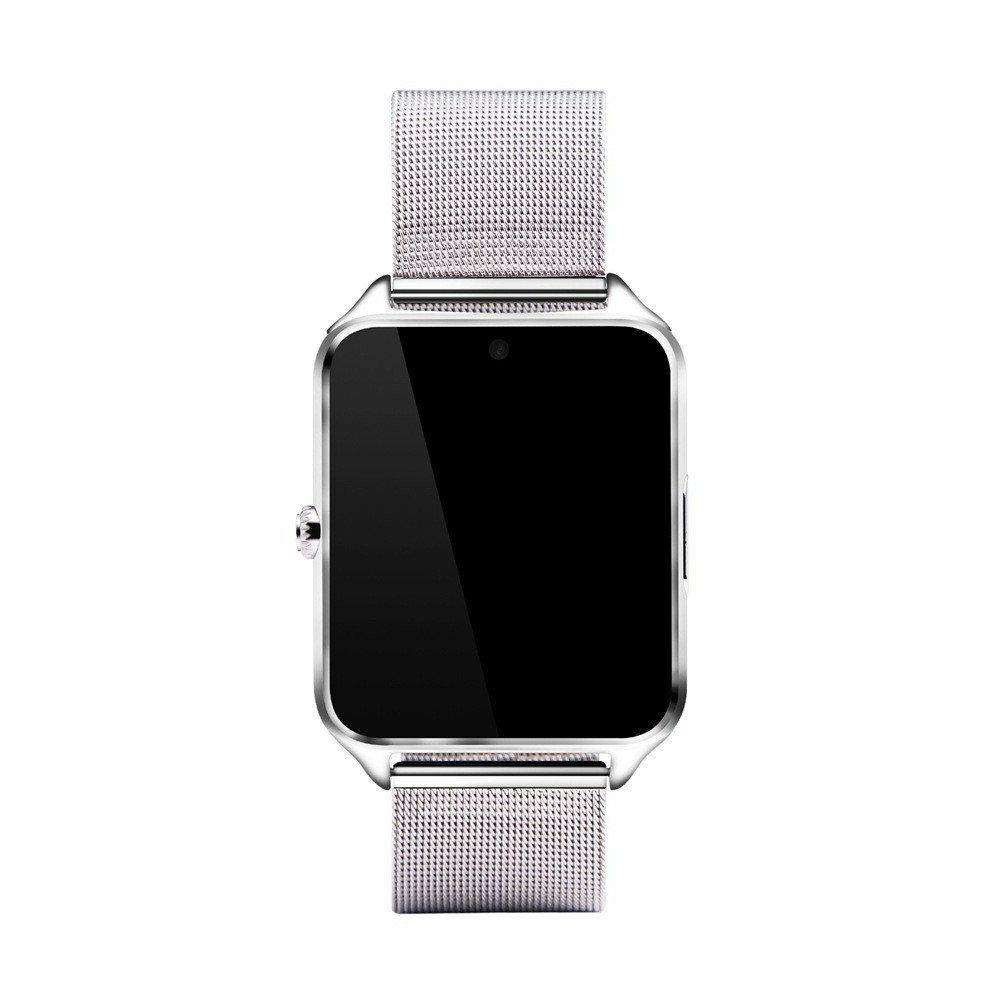 Silver For Samsung iPhone 8 XR XS MAX G8 Android Wrist Phone