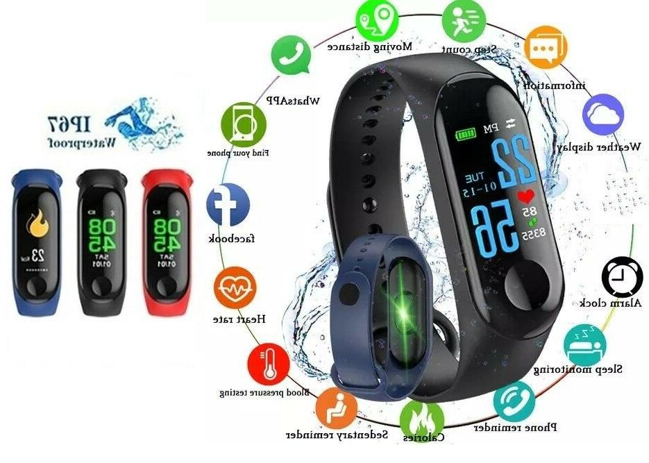 smart band watch bracelet wristband fitness tracker