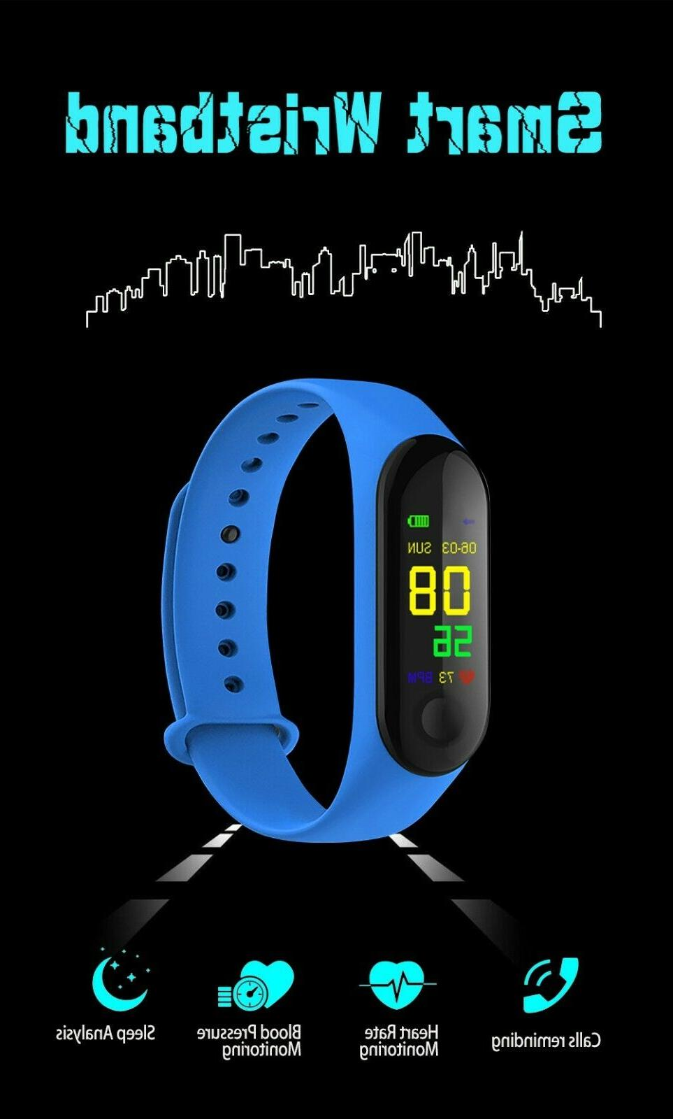 Smart Band Bracelet Wristband Fitness Tracker