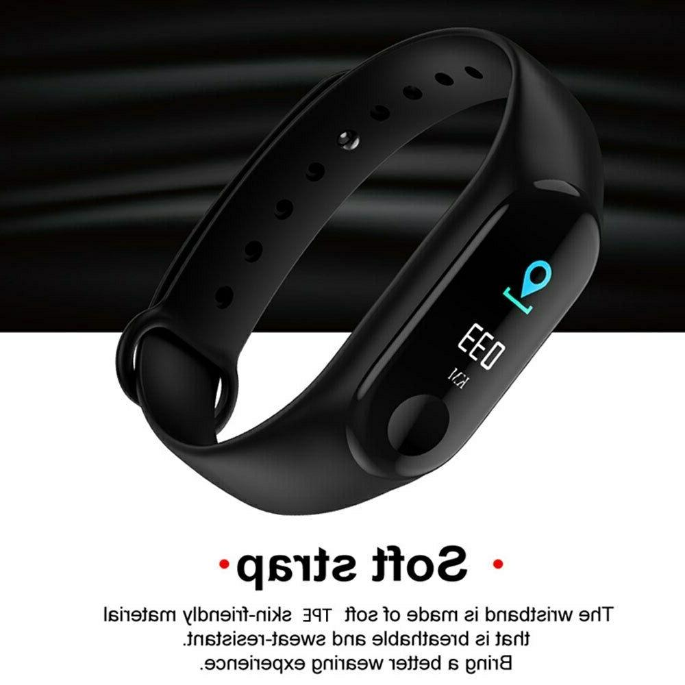 Smart Watch Bracelet Wristband Fitness Tracker Pressure