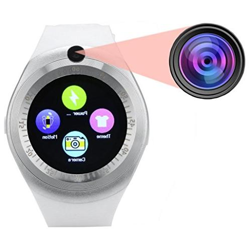 smart for Bluetooth Round Screen For Android Phone,Hands-free Bluetooth Phone Display,Alarm