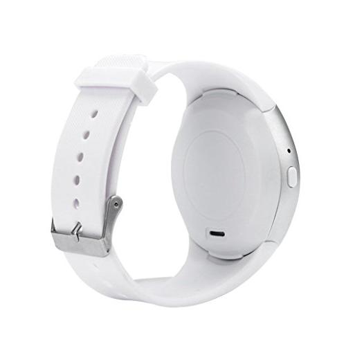 smart Bluetooth Round Screen For Android Phone,Hands-free Call,Clock Display,Alarm Calendar