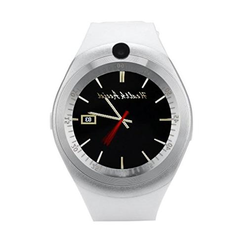 smart for Bluetooth Watch Round Android Phone,Hands-free Phone Display,Alarm