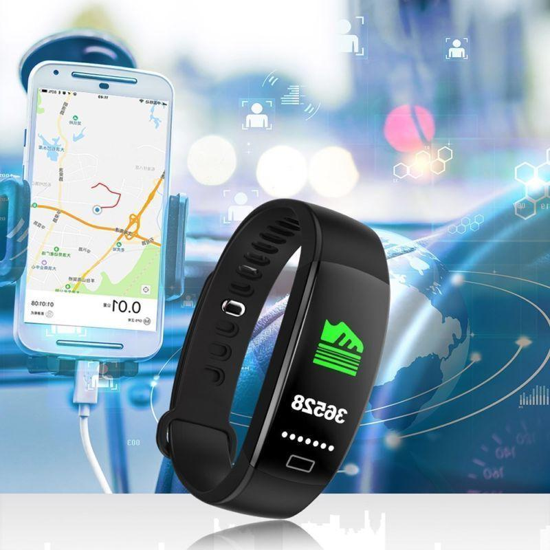 Smart Band Rate Pressure Fitness Tracker Lot