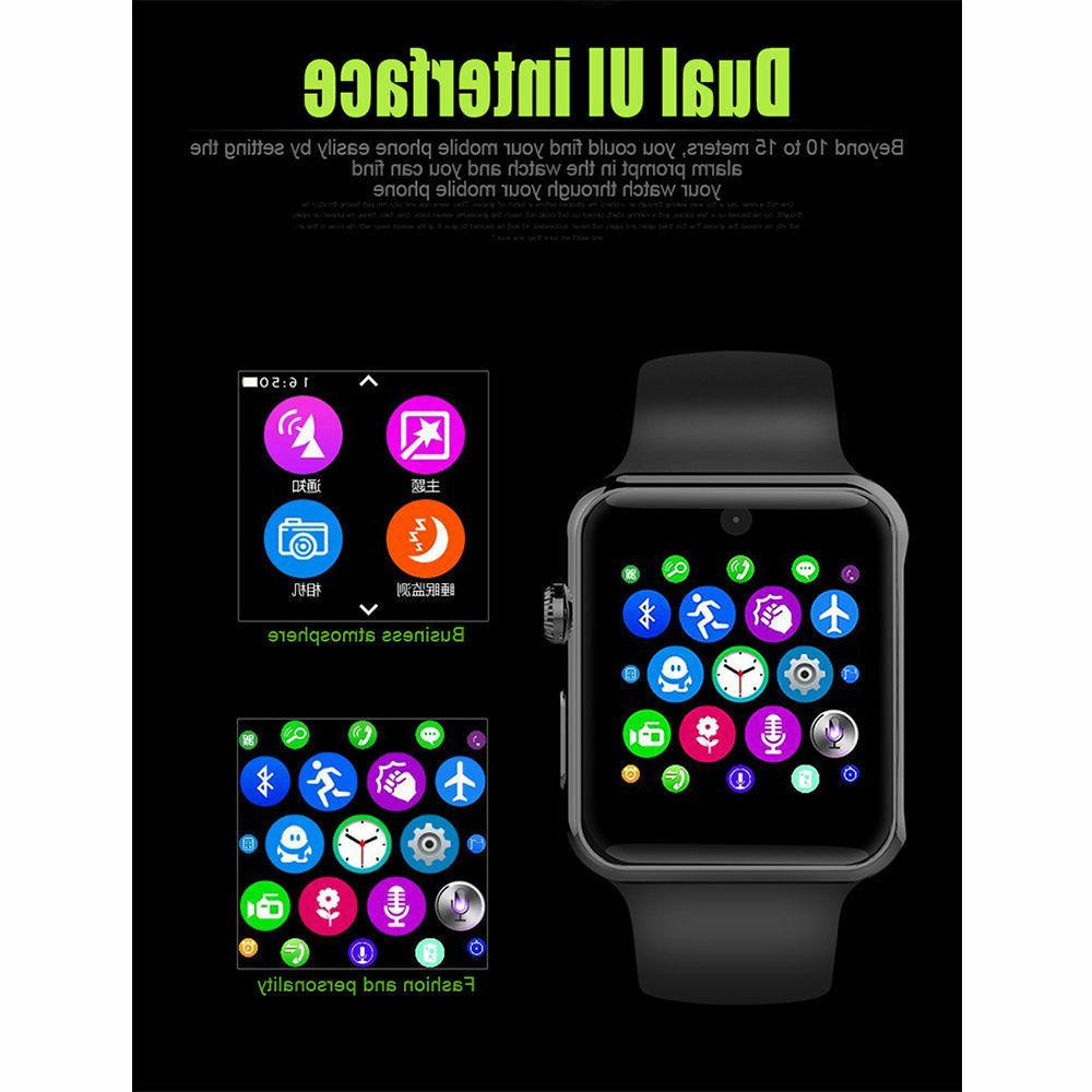 Smart Watch Bluetooth Samsung iPhone Android Phone New