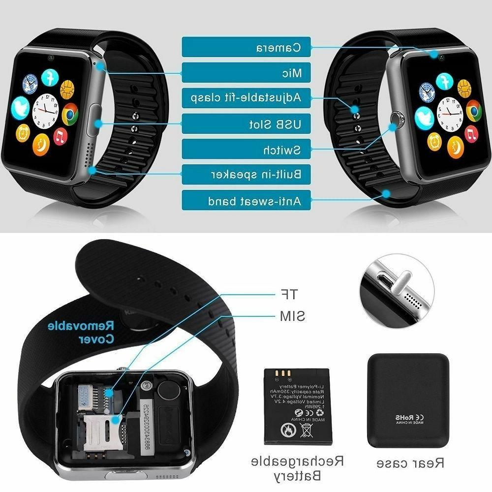 Smart Watch For Samsung iPhone LG Android Phone New