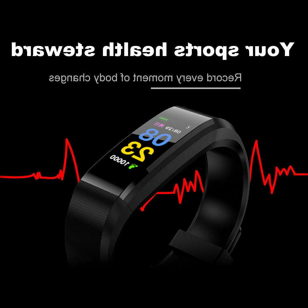 Smart Heart Rate Caolorie Tracker Monitor