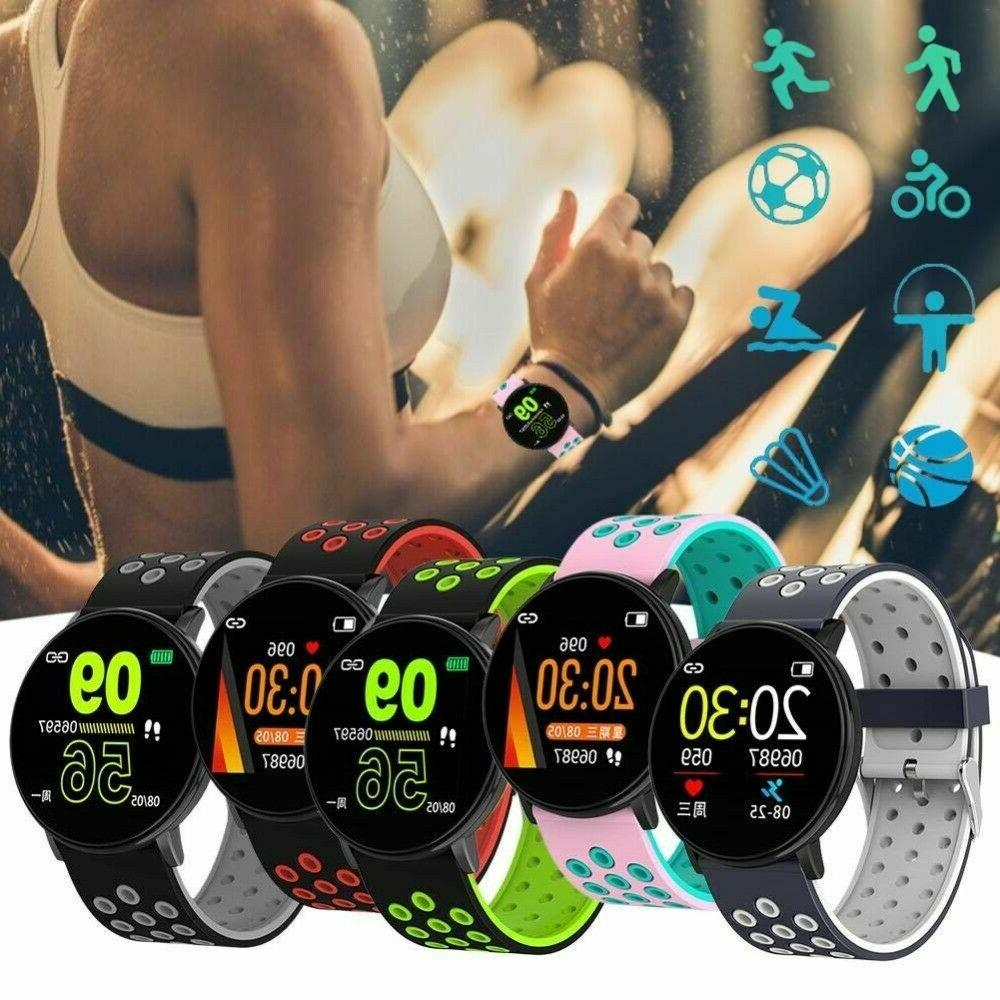 Smart Android HeartRate Fitness Monitor IPhone Wristband
