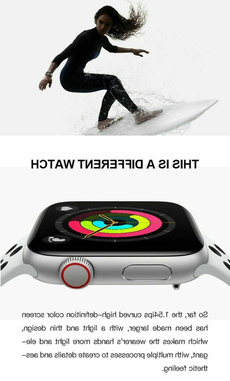 Smart Watch for iOS Android Phone Waterproof