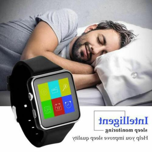 Smart iPhone Android IOS with Bluetooth Smart Watch x6 Touch Screen
