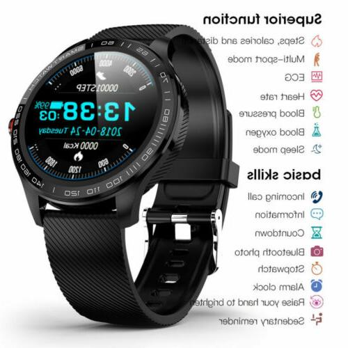 L9 Watch PPG ECG Pressure Heart For Android iPhone