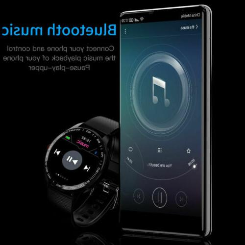 L9 Smart IP68 PPG Pressure Heart Rate Android