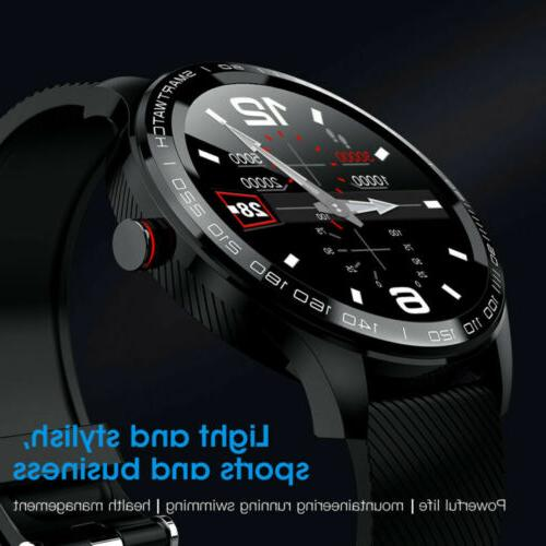 L9 Watch IP68 PPG Blood Pressure Rate Android iPhone