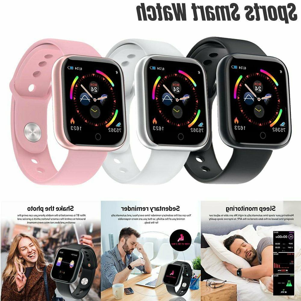 waterproof smart watch women men heart rate